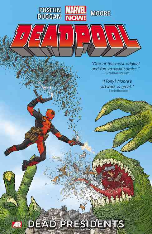 Deadpool 1 By Posehn, Brian/ Duggan, Gerry/ Moore, Tony (ILT)